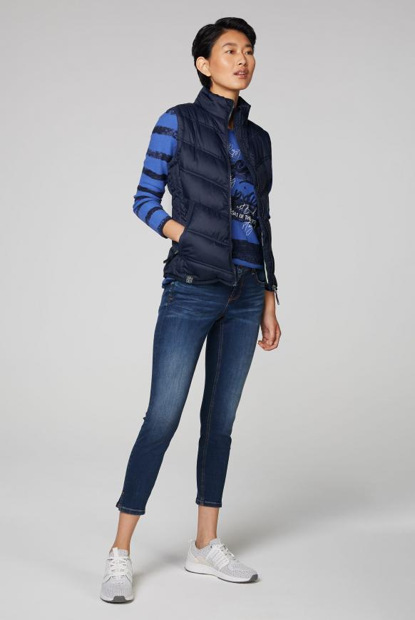 Outdoorweste mit Zippertaschen