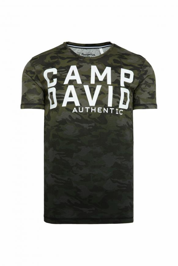 T-Shirt mit All Over Print