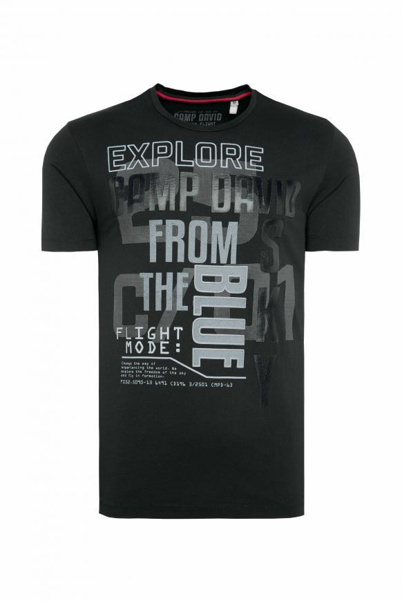 T-Shirt mit Logo Rubber Prints