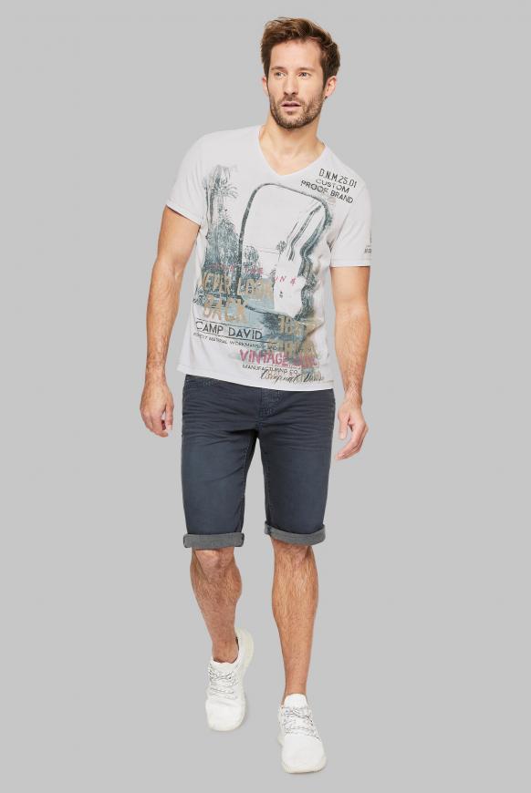 T-Shirt mit Photoprint im Vintage Look