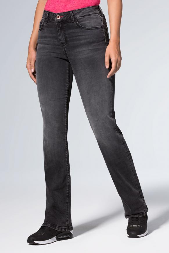 Comfort Shape Jeans EL:KE mit hoher Leibhöhe