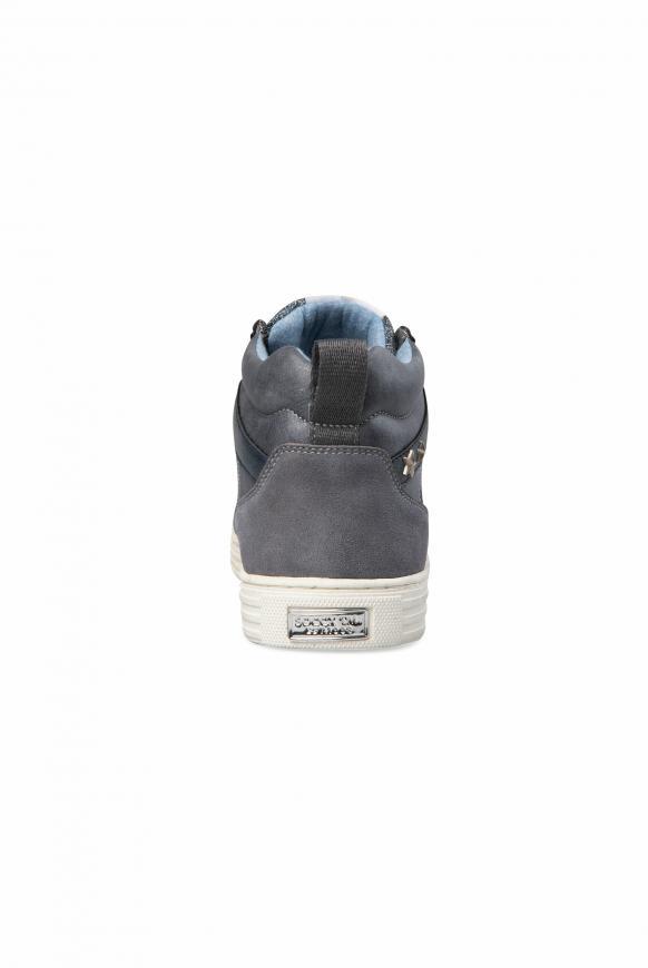 High Cut Sneaker mit Glitzer-Details