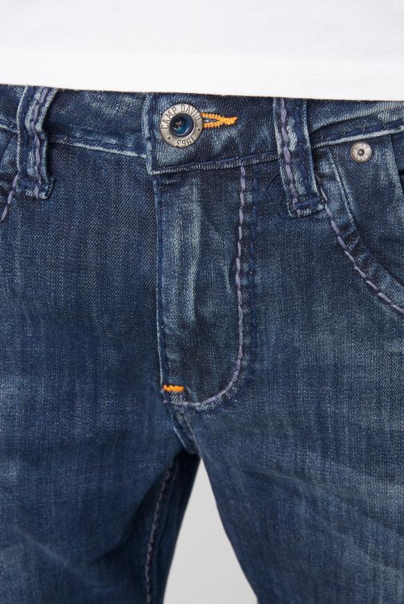 Jeans RU:SL Regular Fit mit Destroy-Effekten