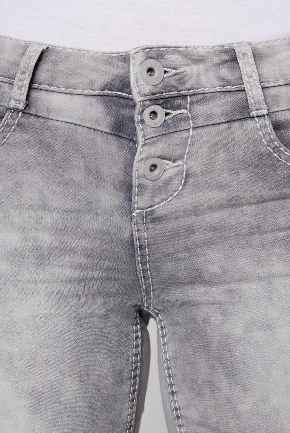 Jogg-Jeans MI:RA mit Knopfleiste