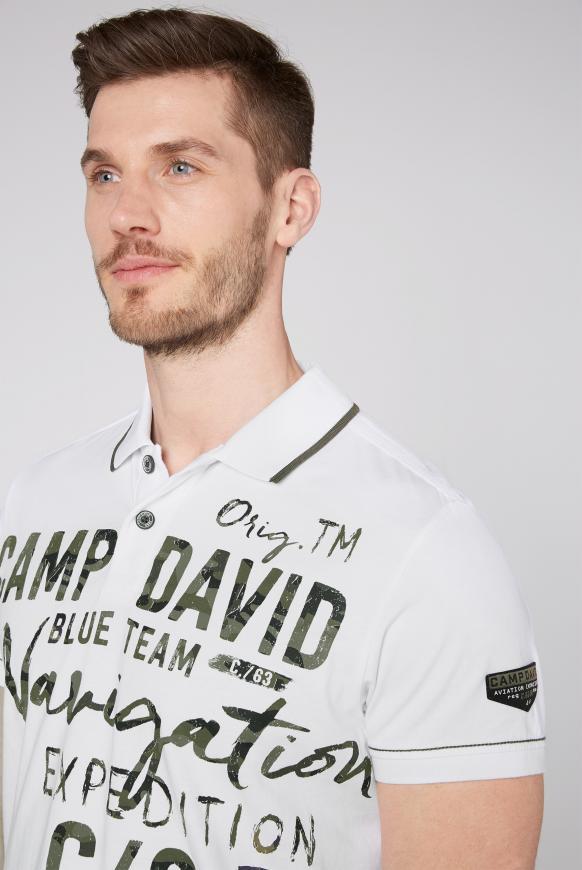 Poloshirt mit Photoprint Artwork