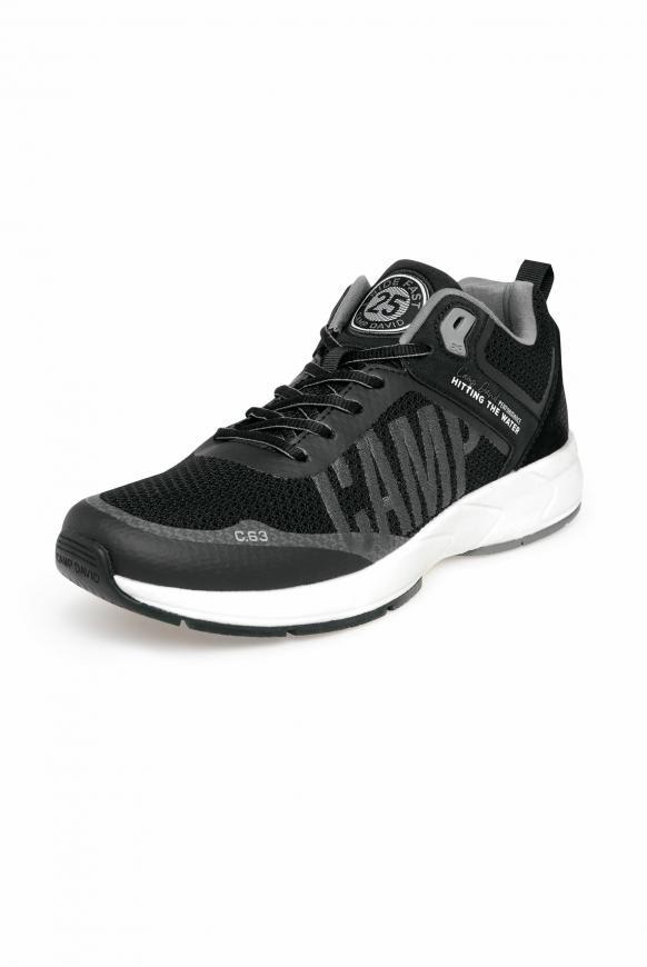 Power Sneaker mit Strick-Struktur und Logo