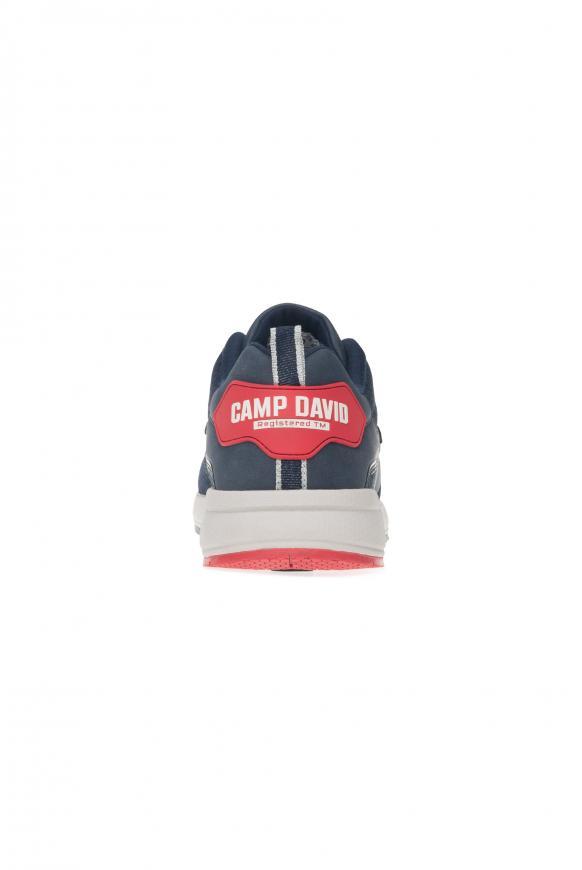 Sneaker mit Knit-Struktur und Logos