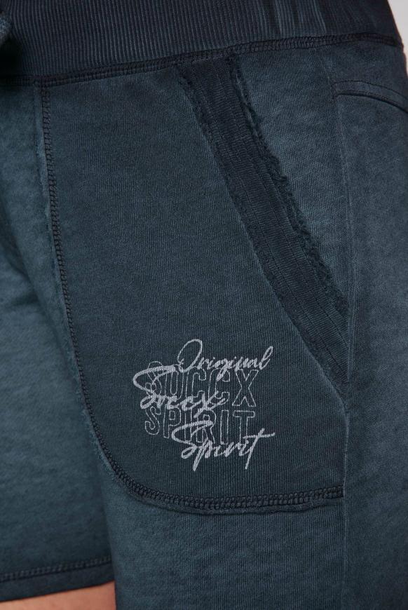 Sweatshorts im Vintage Look mit Print