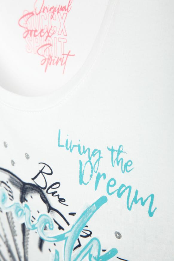 T-Shirt Rundhals mit Print-Artwork