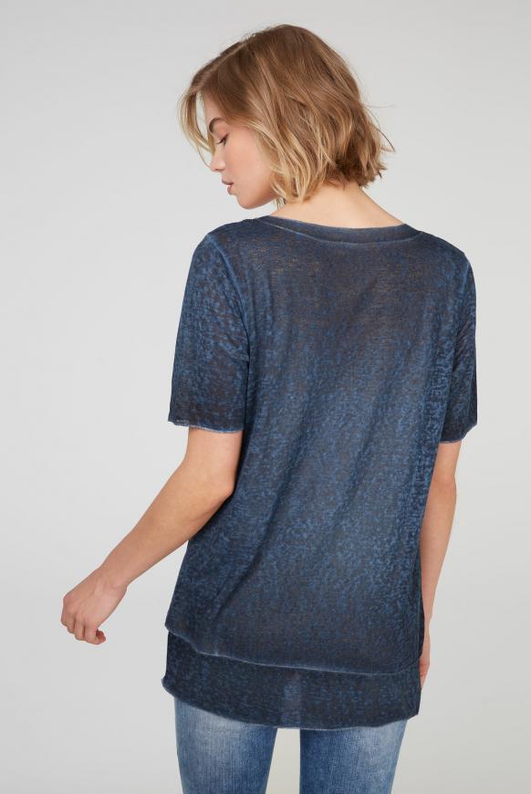 2-in-1 Layering Shirt mit Artwork