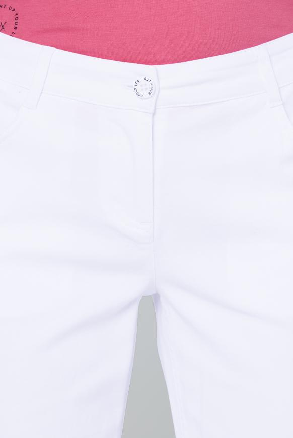 Caprihose im Five-Pocket Style