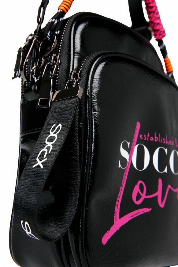 Crossbody Bag mit Logo Print