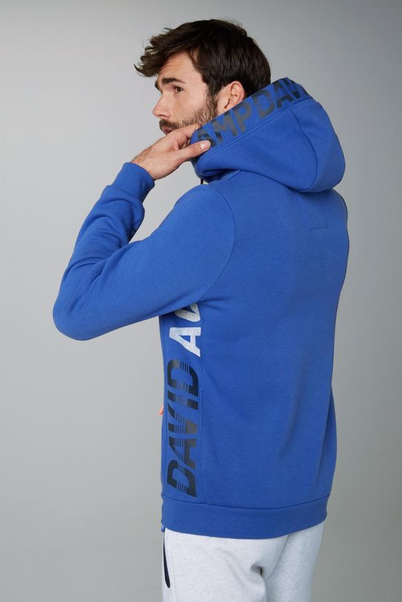 Fleece Hoodie mit Logo und Waterproof Zippern