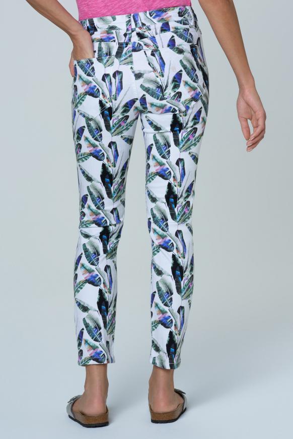 Jeans MI:RA mit All Over Print