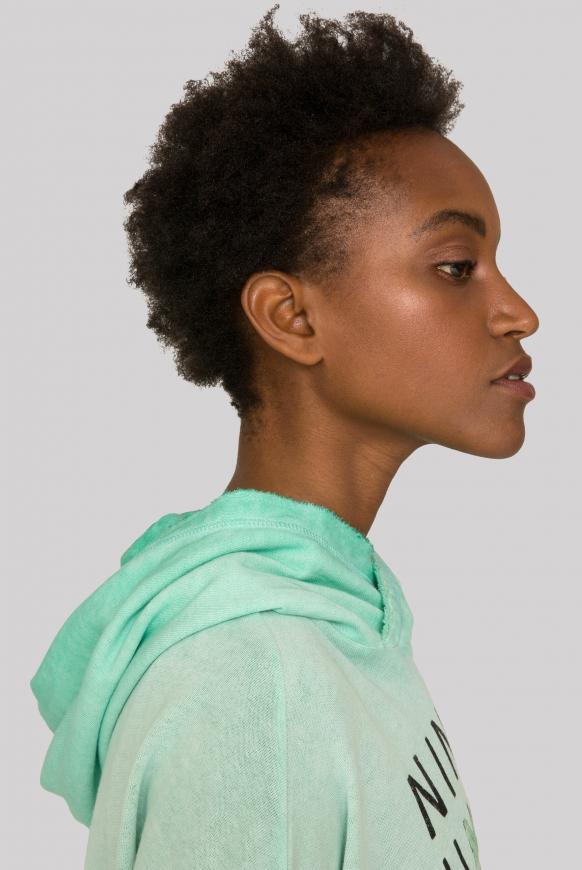 Kapuzensweatshirt Inside Oil Dyed
