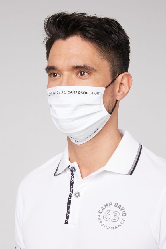 Masken aus Jersey mit Logo 4er Pack