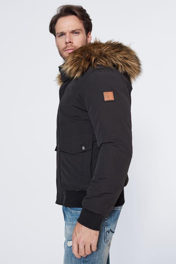 MEM-PHIS Winterjacke mit Kapuze