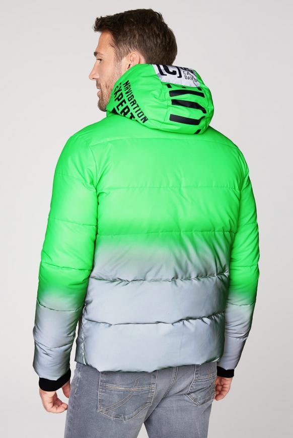Reflektor-Jacke mit Farbverlauf