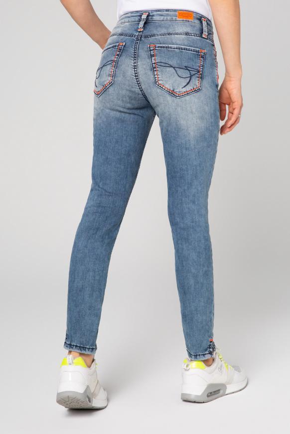 Slim Fit Jeans KI:RY mit Doppelknopf
