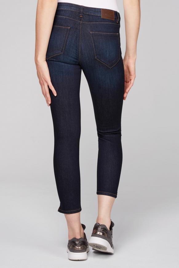 Slim Fit Jeans MI:RA mit dunkler Waschung