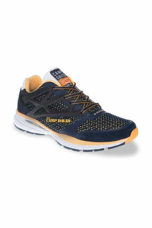 Sportlicher Sneaker mit Strick-Struktur