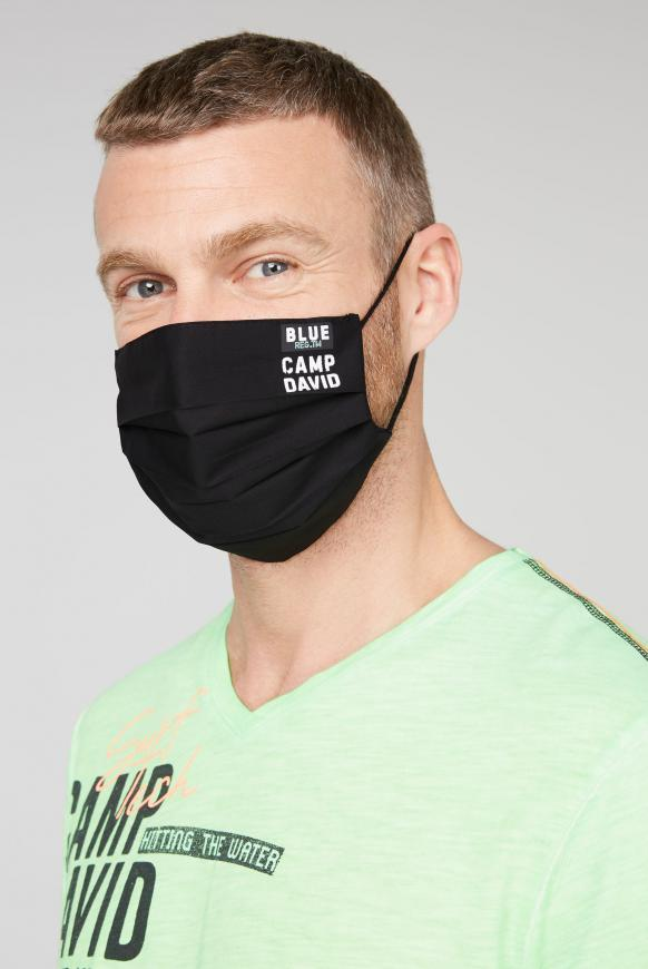 Stoffmasken mit Logo-Design 4er Pack