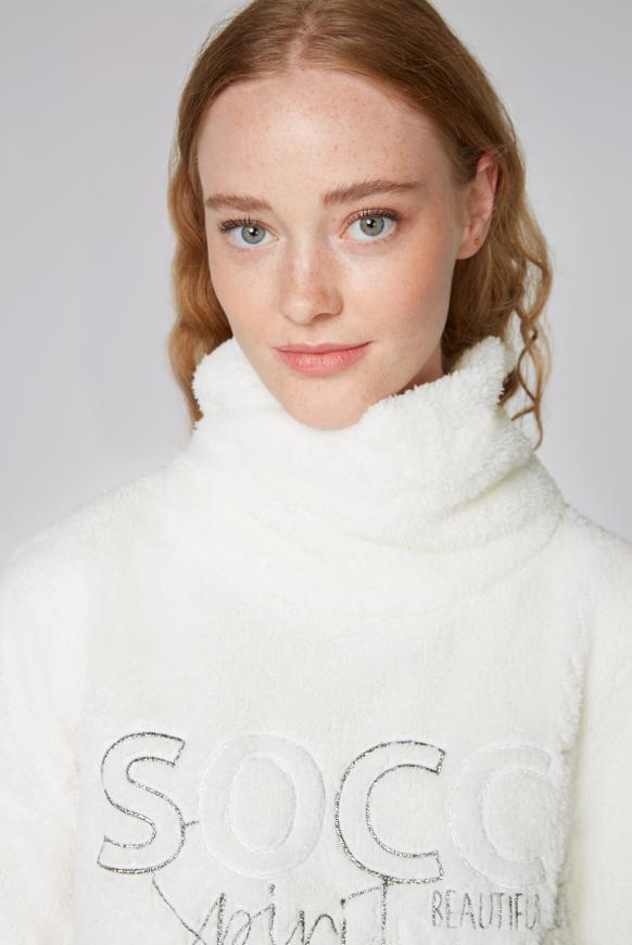 Sweatshirt aus Sherpa-Fleece