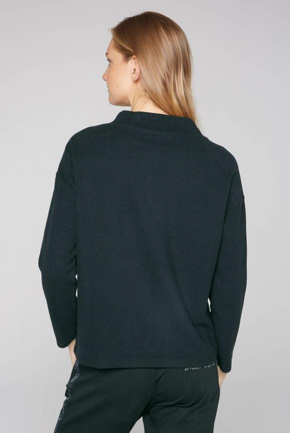Turtleneck-Sweatshirt mit Artwork