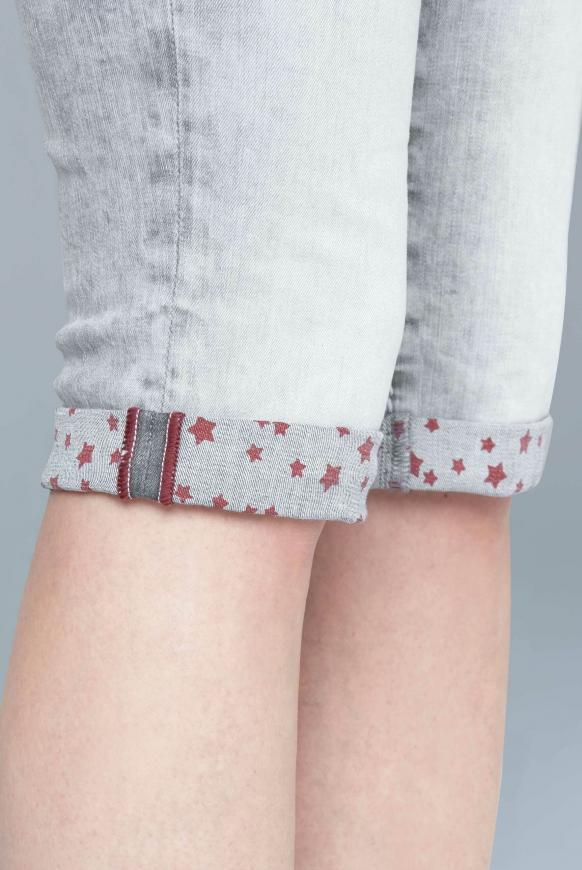 Bermudas Jeans RO:MY mit bedruckter Innenseite