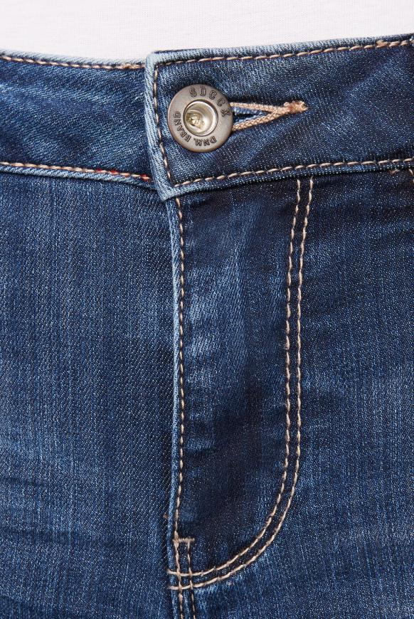 Comfort Fit Jeans CH:AR mit Used-Optik