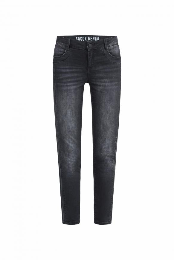 Jeans DA:NA mit Seitentape
