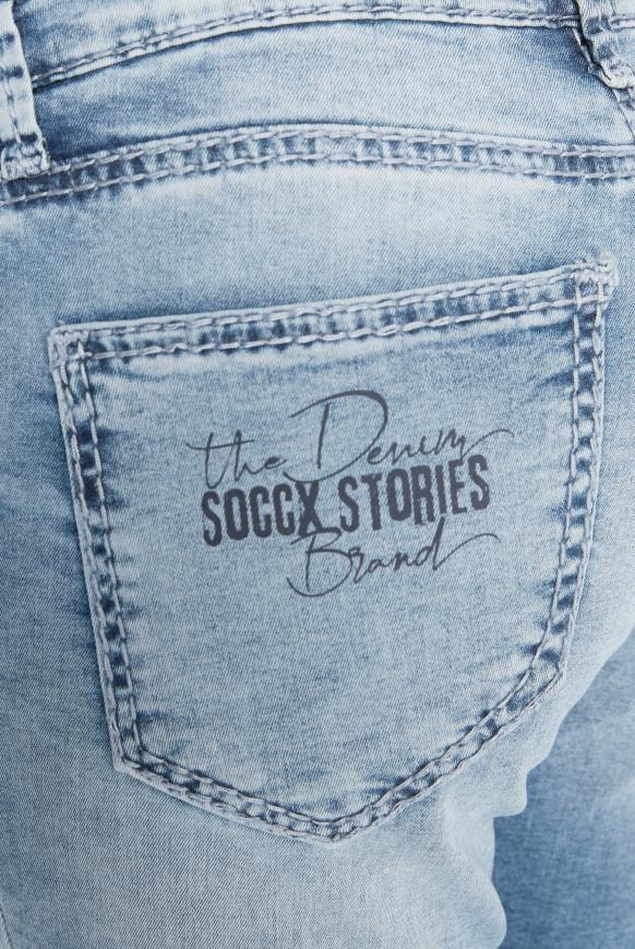 Jeans MI:RA mit Back Prints