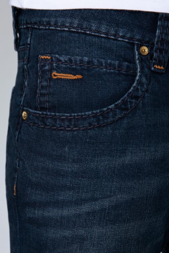 Jeans NI:CO mit tonigen Nähten Regular Fit