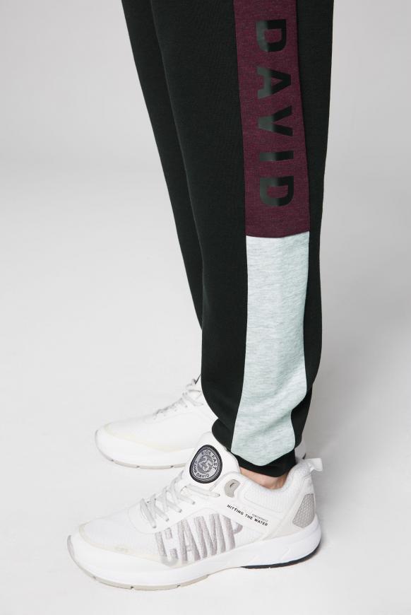 Jogginghose mit Print-Design an den Seiten