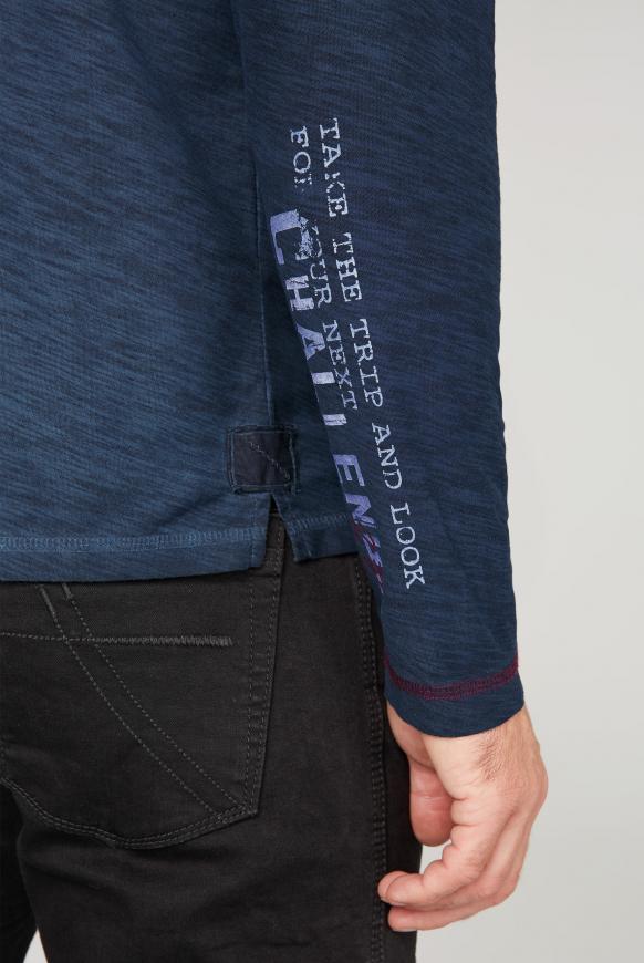 Leichtes Kapuzenshirt mit Logo Print
