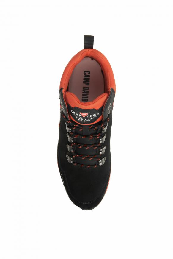 Robuster Sneaker in Wanderschuh-Optik