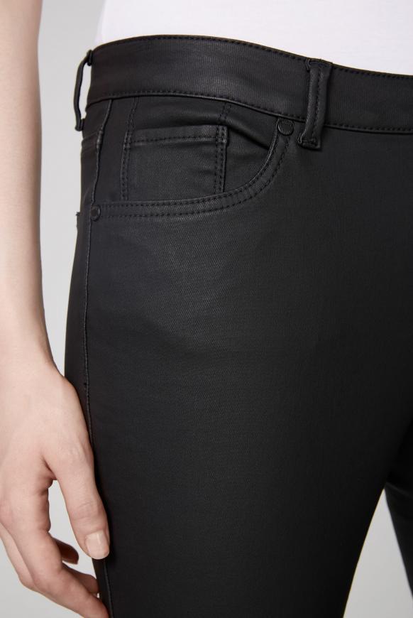 Slim Fit Jeans MI:RA mit Beschichtung