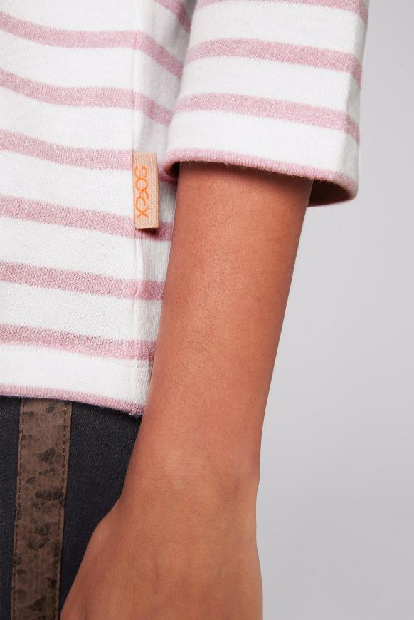 Streifenshirt mit 3/4-Arm