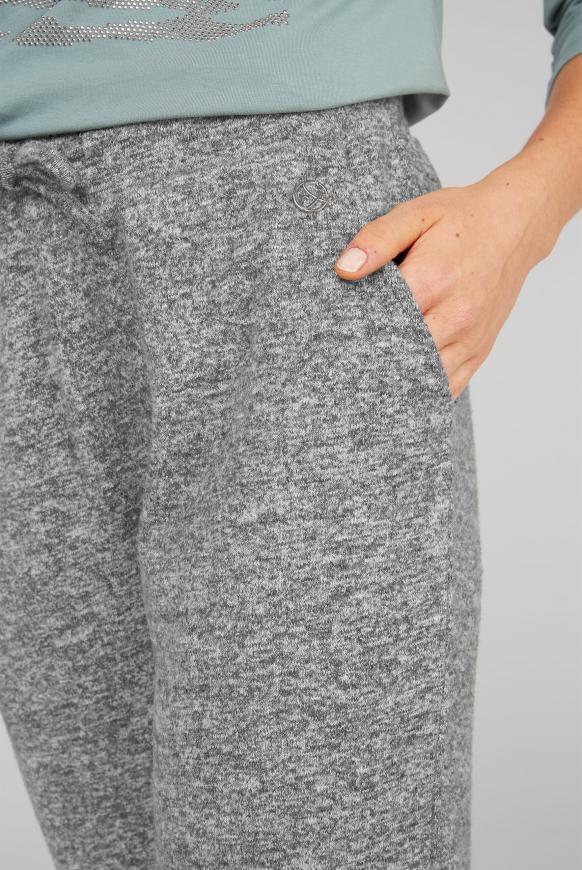 Strickhose im Jogger-Stil