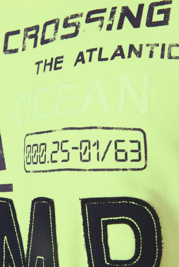 Sweatshirt mit Logo-Design