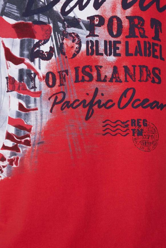 T-Shirt mit maritimen Photoprint