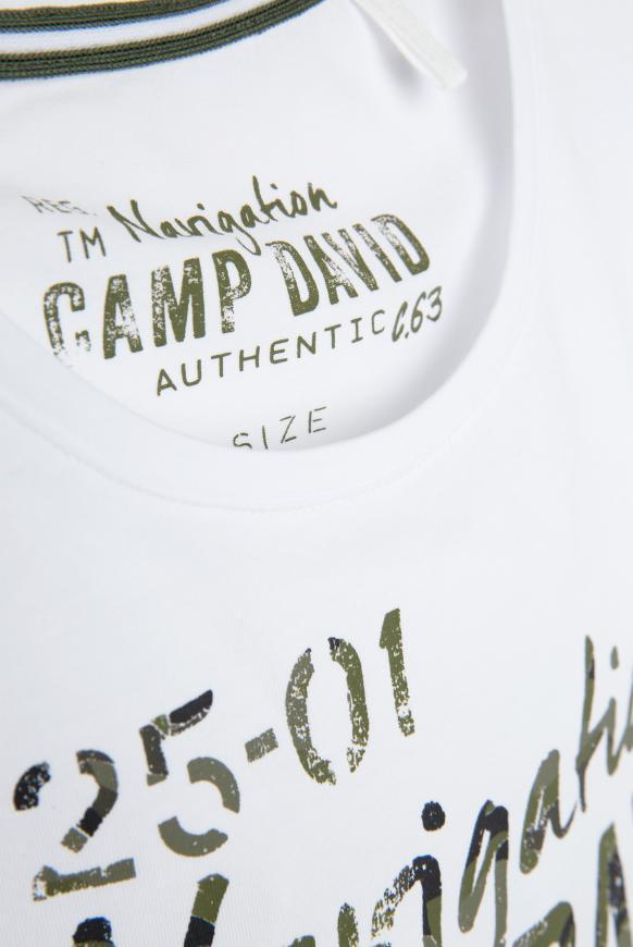 T-Shirt mit Photoprint Logo