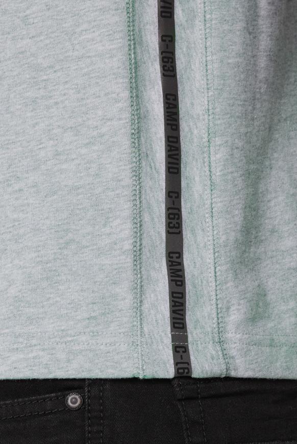 T-Shirt mit Rubber Print