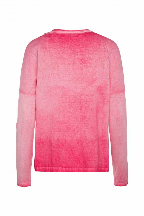 2-in-1 Pullover mit Used-Färbung