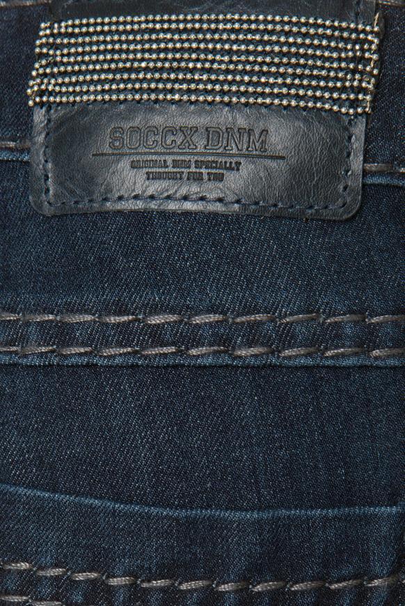 Bi-Elastic Denim RO:MY mit Used-Waschung Regular Fit