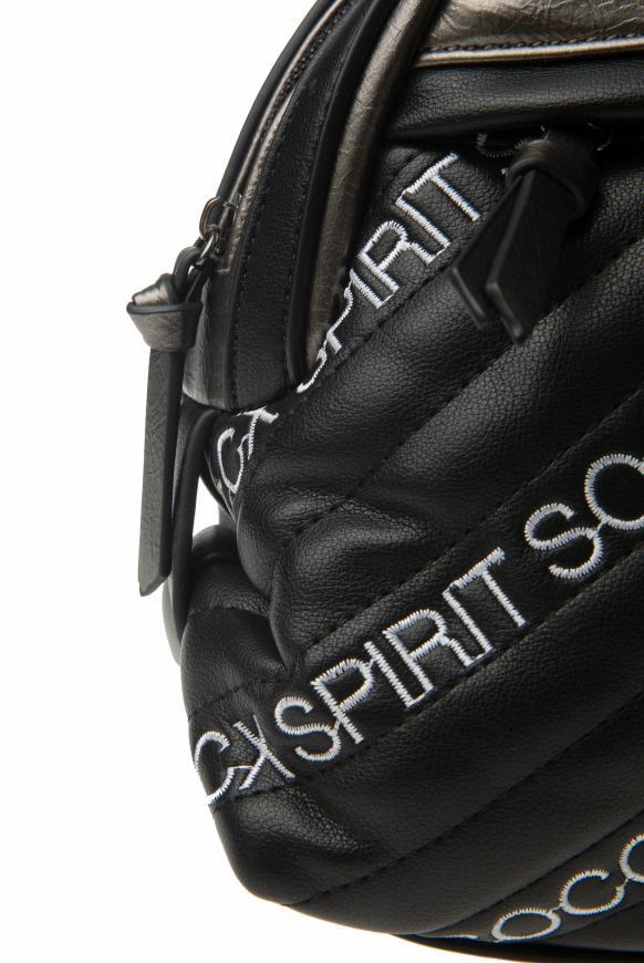 Bowling Bag mit gesteppter Front und Logos