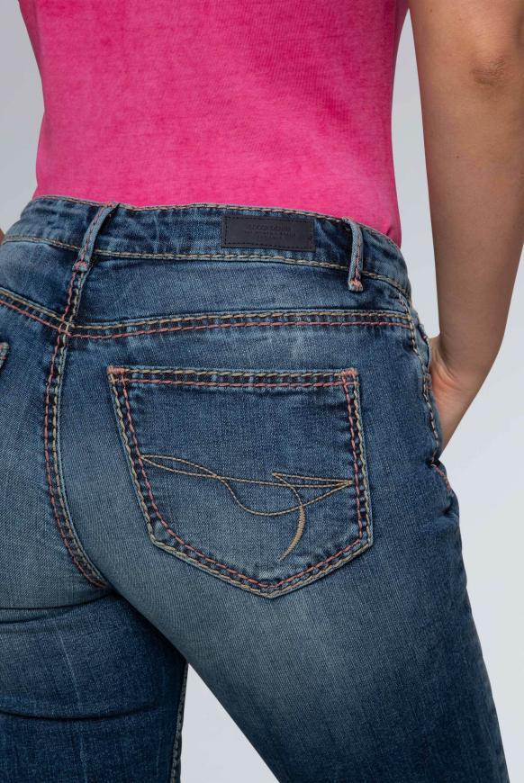 Comfort Shape Jeans EL:KE mit formgebenden Jeansbund