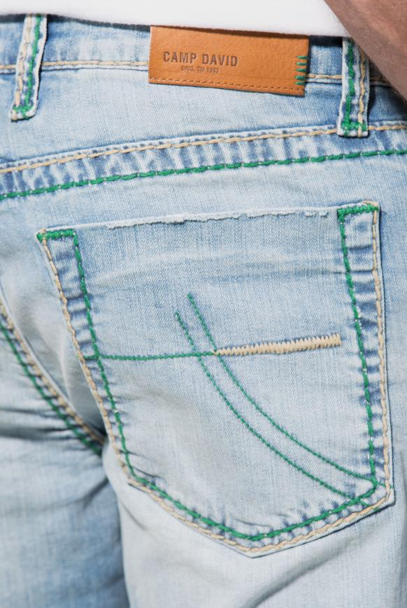 Jeans NI:CO im Vintage Look mit breiten Nähten