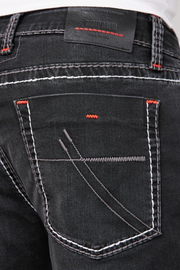 Jeans NI:CO mit Kontrastnähten