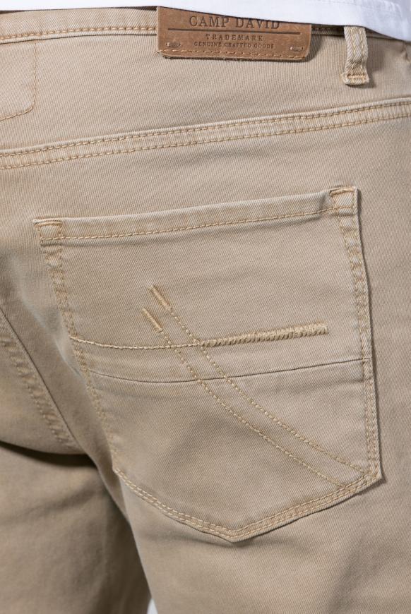 Jeans NI:LS mit schmalem Bein und Used-Waschung
